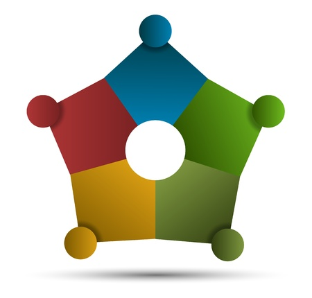 Modèle d'étoile pour concept d'entreprise Banque d'images - 20312584