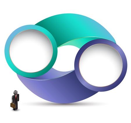 Circle 3D rotatation Vector