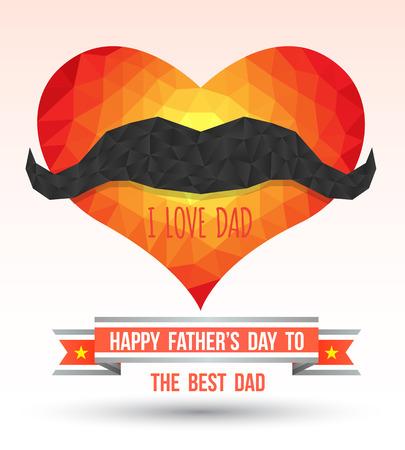 happy Fathers Day: Feliz D�a del Padre Vectores