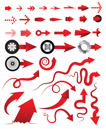 newest: Arrows collection multiple style  Vector illustration can use for object printing and web