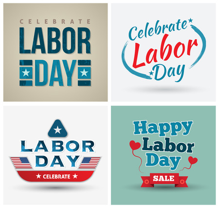7,622 Labor Day Stock Vector Illustration And Royalty Free Labor ...