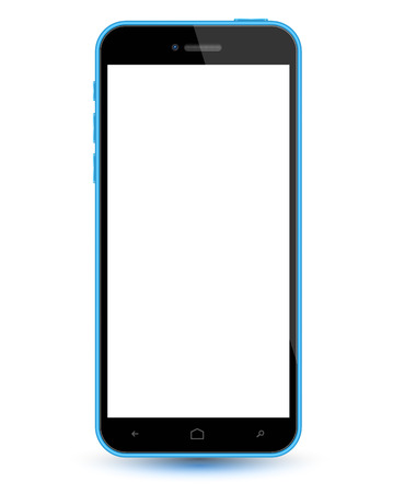retina display: smartphone realistic vector mockup. Can use for printing and web object. Game and application mockups.