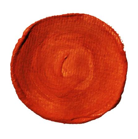 Colorful watercolor brush stroke, splash, circle. Vector design element. Vector illustration.