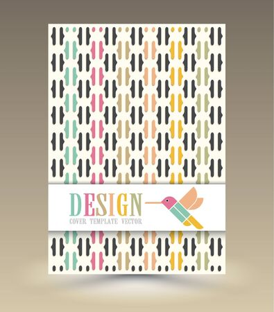 book cover design: Magazine Cover with bird vector. For book, brochure, flyer, poster, booklet, leaflet, cd cover design, postcard, business card, annual report. vector. abstract background