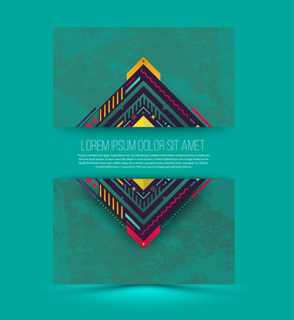 insert: Abstract vector banner with texture.Can use for brochure, flyer, magazine cover and poster template. Vector illustration.