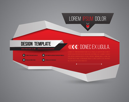 Modern banner 3D style. Vector illustration. Can use for promotion and advertising on printing and website.
