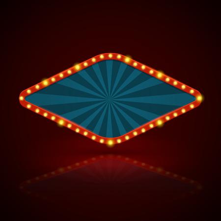 letrero: Guardar en una caja de luz Buscar imágenes similares Ilustración Compartir Imagen vectorial: Bandera retra. Ilustración del vector. se puede utilizar para fines publicitarios, bandera de la tela.