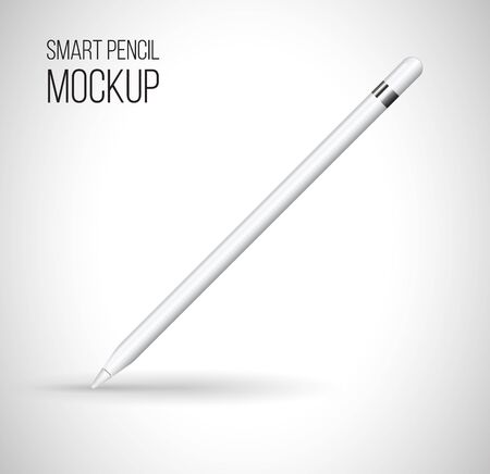 periphery: Mockup digital pencil. Vector illustration.
