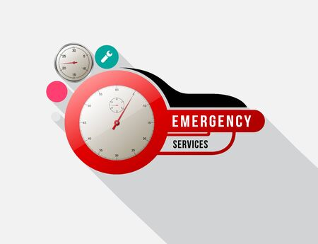 24 hr: Emergency services with Odometer.