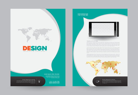 book cover design: Cover annual report Leaflet Brochure Flyer template A4 size design, book cover layout design, Abstract presentation templates, Business report template.