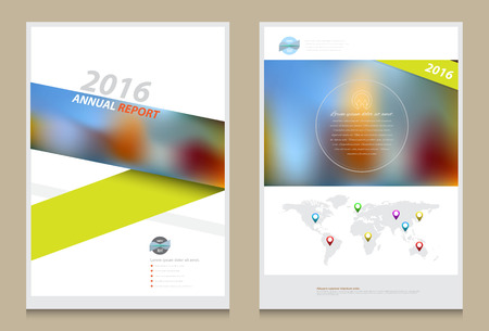 a4: Cover annual report Leaflet Brochure Flyer template A4 size design, book cover layout design, Abstract presentation templates, Business report template.
