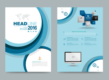 book cover: Cover annual report Leaflet Brochure Flyer template A4 size design, book cover layout design, Abstract presentation templates, Business report template.