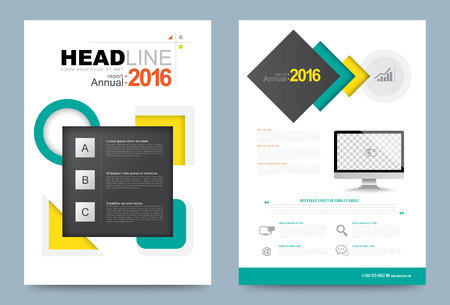 portadas de libros: Cover annual report Leaflet Brochure Flyer template A4 size design, book cover layout design, Abstract presentation templates, Business report template.