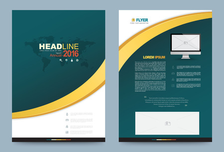 book vector: Vector cover design template simply and elegant style, Can use for flyer, brochure, annual report, magazine, book, poster, printing press and web presentation. Vector illustration. Front and back layout A4 size. Illustration
