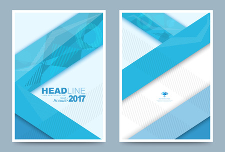 cover: Vector cover design template simply and elegant style, Can use for flyer, brochure, annual report, magazine, book, poster, printing press and web presentation. Vector illustration. Front and back layout A4 size. Illustration