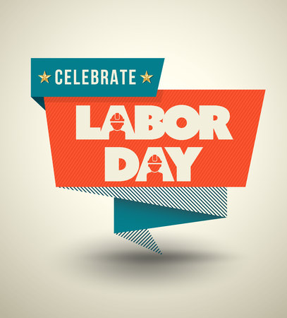 Celebrate Labor day banner. vector illustration. Can use for labor day all country. Illustration