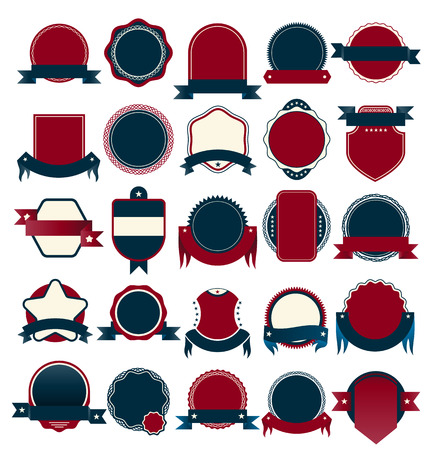 Vector Badge collection for sale and guarantee tag. Vector Illustration.