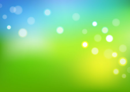 Abstract background with bokeh. Vector illustration can use for background greeting card and poster.