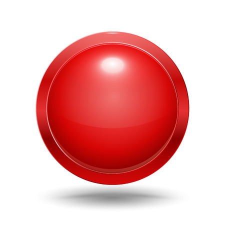 metal ball: Circle modern frame vector illustration 3D style. Illustration