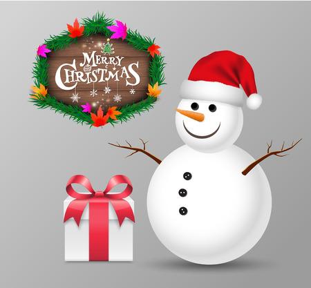 Christmas object. Vector illustration. 일러스트