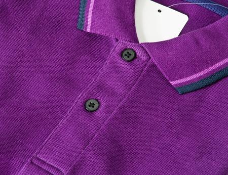 Puple Polo Shirt photo