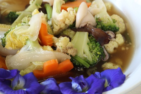 Stir-fried mixed vegetable
