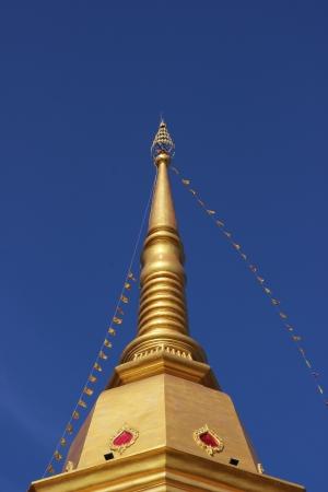 Pagoda at Naka temple, Phuket