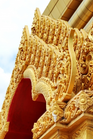Thai art Stock Photo
