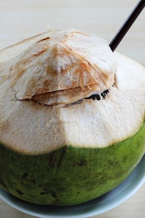 phuket food: Coconut juice