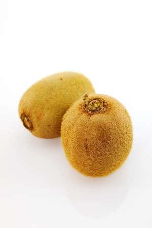freshest: Kiwi fruits with white background