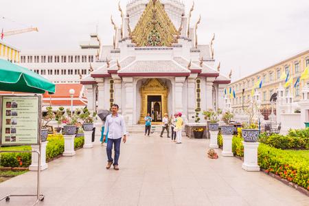 Bangkok, Thailand - June 5, 2016 : Bangkok city pillar shrine or pillar shrine of Thailand