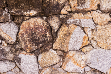Stone wall or mountain rock wall can be used as background