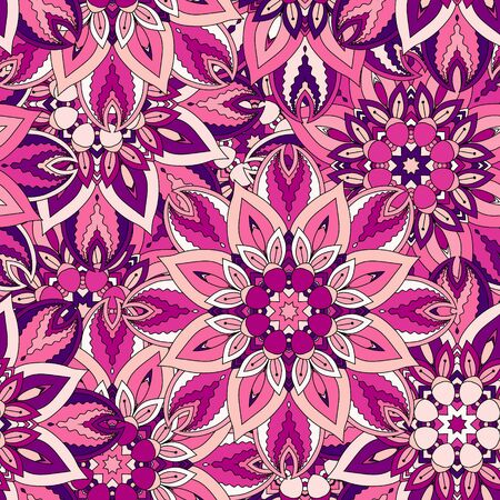 ottoman fabric: Seamless pattern. Vintage decorative elements. Hand drawn background. Islam, Arabic, Indian, ottoman motifs. Perfect for printing on fabric or paper.