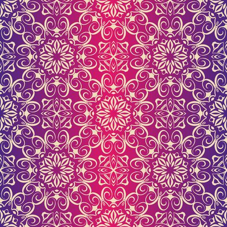 pintado real del patrón floral transparente, Fondo de lujo.