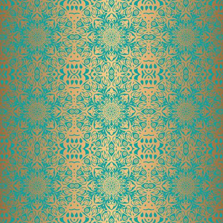 Königliche Tapete nahtlose Blumenmuster, Luxus Hintergrund.