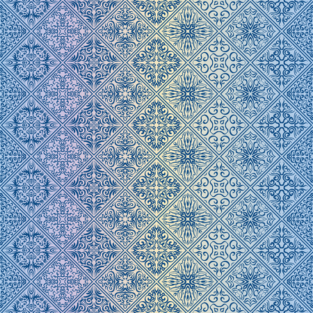 Royal wallpaper seamless floral pattern, Luxury background. 矢量图像