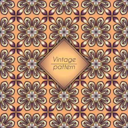Abstract geometric retro seamless pattern. 向量圖像