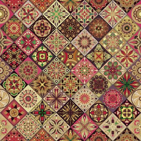 sin patrón , con elementos decorativos vintage lineart mandala
