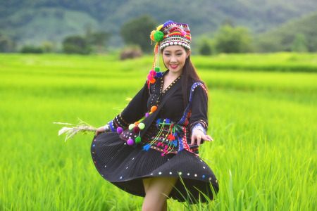 Hmong woman from Laos Reklamní fotografie