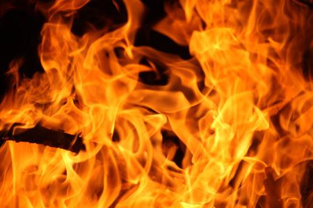 Blurrd Blaze fuoco fiamma texture dello sfondo. Archivio Fotografico
