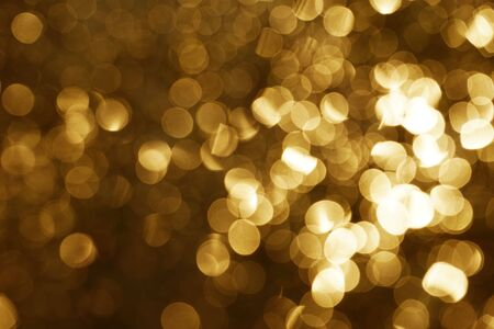 Gold abstract bokeh background. abstract grunge brown background with bokeh