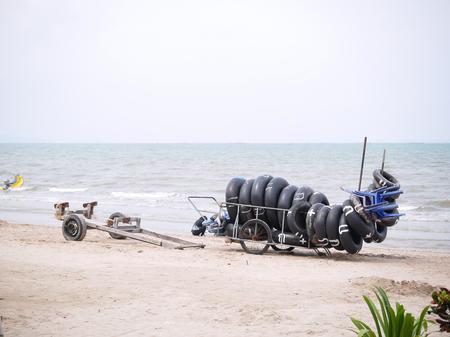 songkran festival in Bangsaen beach Thailand 2017