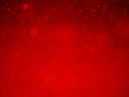 red bokeh abstract background and texture Stock Photo
