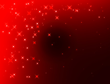bokeh abstract background with red color and deep style