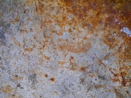 coverings: old cement background and texture and rust color Stock Photo