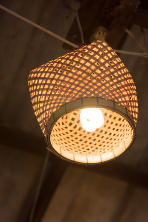 field depth: hanging lights with shallow depth of field