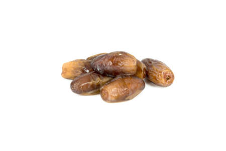 date fruit: date palm,date fruit on white background