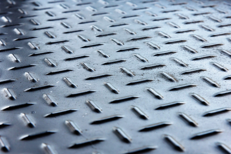 Metal Diamond Plate Texture Abstract Background Stock Photo