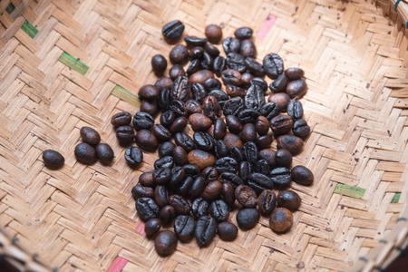 Roasted Civet Coffee, Photographed on a cofee farm