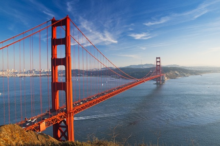 bridges: Golden Gate bridge. San Francisco, USA.